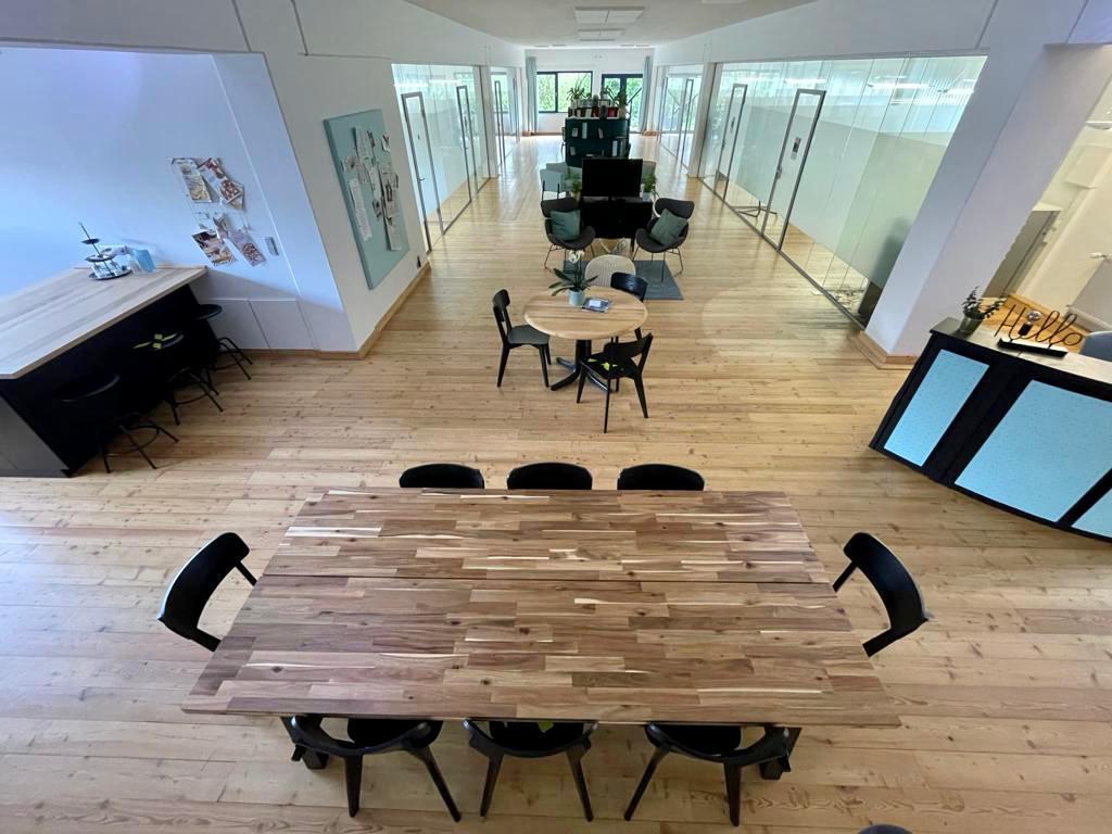 Eventfläche mit Empfangsbereich Work Kontor Ahrensburg