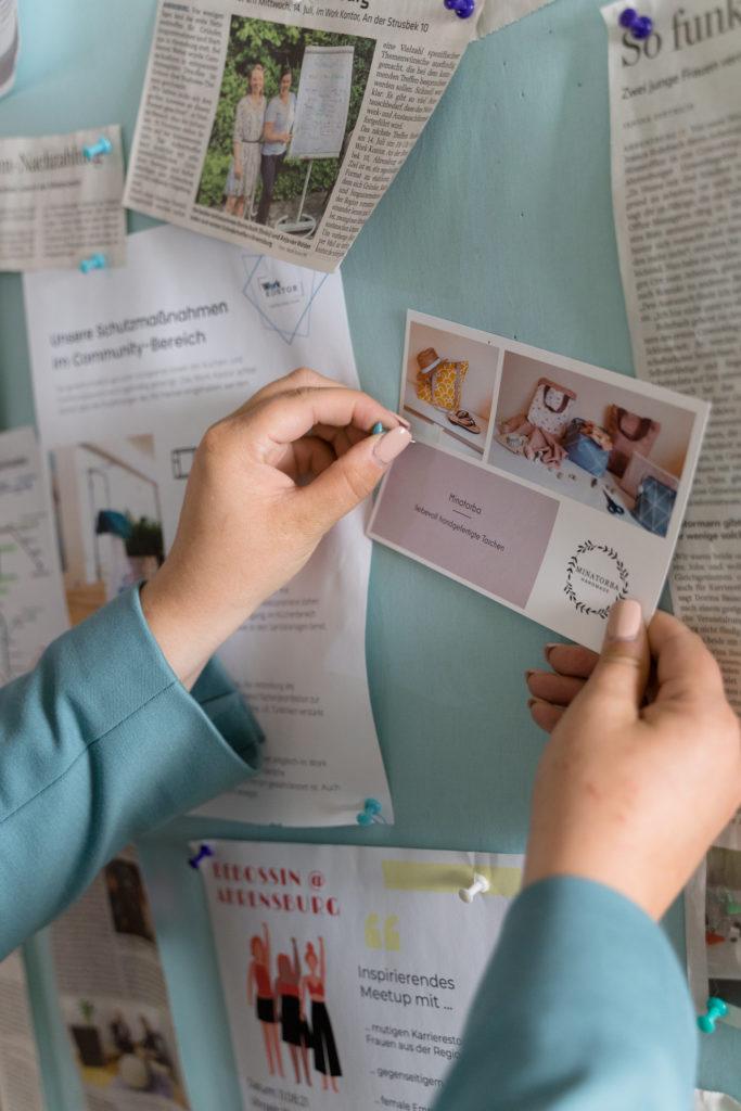 Entdecke Gleichgesinnte und vernetze dich mit regionalen Unternehmen, Selbstständigen und Freelancern.