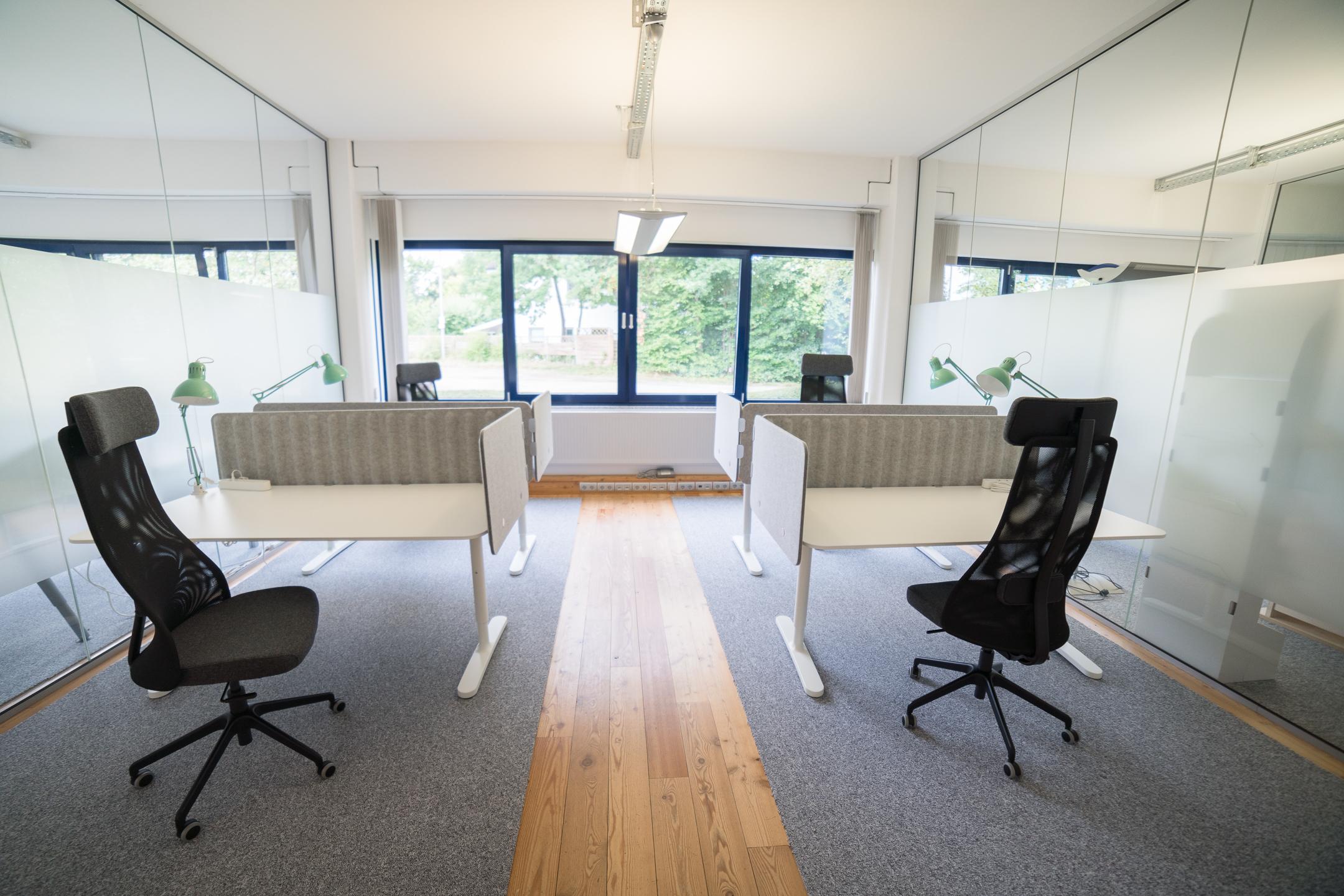 Wochen- und monatsweise Büro in Ahrensburg mieten